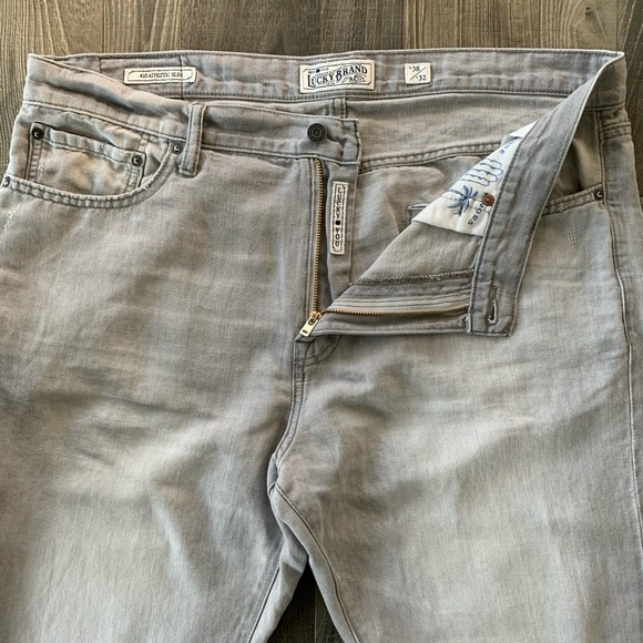 38x32 Lucky Brand 410 Athletic Slim Linen Jeans